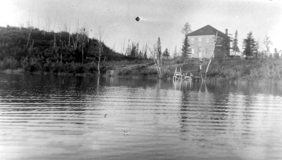 R�©sidence de Maurice B�©nard au lac Davy
